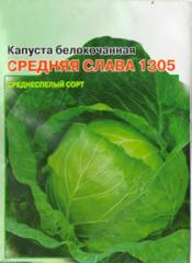 Seeds cabbage average glory of 1305