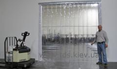 PVC of a veil or thermocurtain