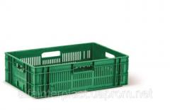 Ящик для овощей и фруктов. Ящик HDPE тип ОЗН-3