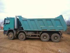 Mercedes Actros 4141 8x8 truck