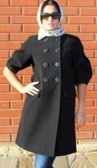 Пальто кашемировое мод-8-В-107 оптом продажа поставка