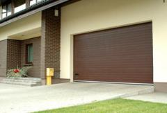 Gate are garage