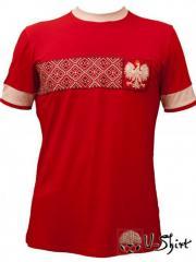 Vyshivanka U-Shirt Poland.Futbolka a vyshivanka of