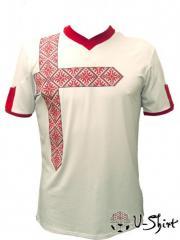 Vyshivanka U-Shirt England. A t-shirt a vyshivanka