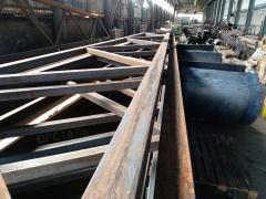 Фермы металлические, стальные фермы стропильные,