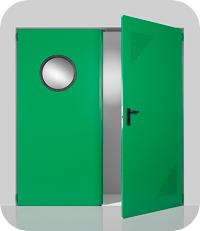 Двери металлические алюминиевые и стальные