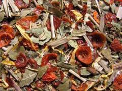 Herbal tea the Breakfast on TM NADINE grass