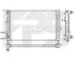 Радиатор охлаждения Ауди Audi A4(94-01)B5