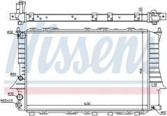 Радиатор охлаждения Ауди Audi 100/200 91-94