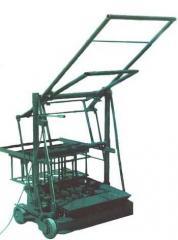 Вибростанок для производства шлакоблоков Команч