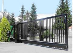 Gate automatic for parkings
