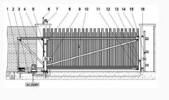 Gate are mechanical
