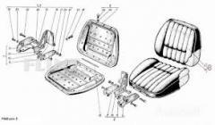 Подушки сиденья МТЗ 70-6803010
