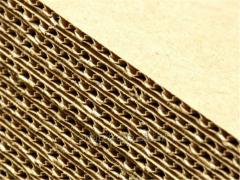 Corrugated cardboard (always available - wide