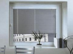 Blinds. Horizontal blinds