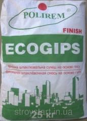 Шпаклевка Полирем СШТ-407 ecogips finish 25кг
