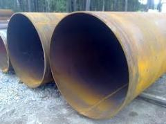 Pipes for oil products being in the use