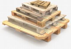 Europallets wooden