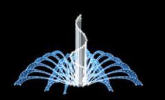 Фонтаны световые, светодиодные фонтаны