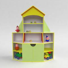 """Детская мебель. Стенка для игрушек """"Книжный"""