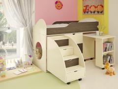 Кровать-чердак Горка