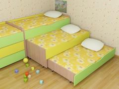 Детская кровать трехъярусная.