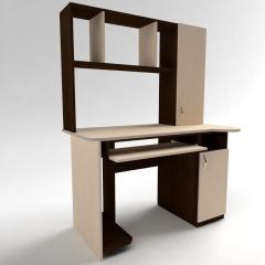Стол для компьютера с надстройкой СКМ - 3.