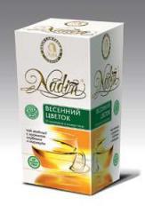 Green China tea of melkolistovy NADIN, Spring