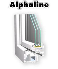 VEKA ALPHALINE windows
