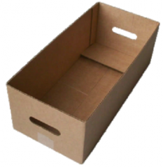 Corrugated packaging of a difficult configuration
