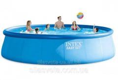 Открытый надувной круглый бассейн Intex 26176