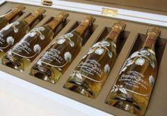 Gofroyashchiki for champagne of horizontal laying