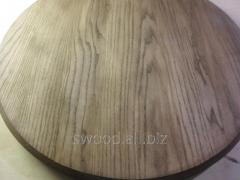 Столешница для стола круглая СМ8/3 из ясеня