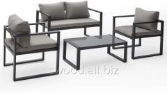 Набор мягкой мебели ММ235 из металла в стиле Лофт
