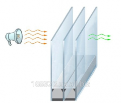 Double-glazed windows noise-protective in