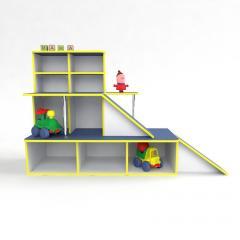 Игровая мебель Автосалон, зона для игр в детском