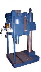 Press pneumatic desktop PPN-1, effort of 10 kN,