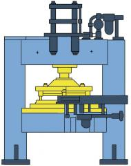 Press pneumatic special PPS-1 model