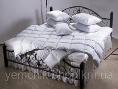 Одеяло односпальное 155х210см/Одеяло с гусиным пух