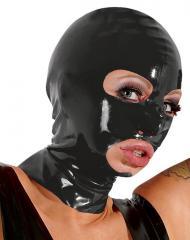 Латексная маска на голову Latex Head Mask Black от