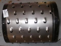 Drum for a food cutter