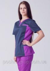 Женский хирургический костюм Лилия
