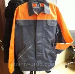КостюмПрофи, п/комбинезон и куртка, саржа,