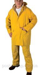Костюм влагостойкий HUGO желтый