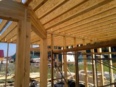 Производство деревянных строительных...