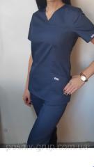 Женский хирургический костюм Классик. В наличии