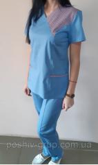 Женский хирургический костюм Грация. В наличии