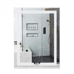 Зеркало Qtap Mideya с антизапотеванием (DC-F936) 500х800 QT2078F936W