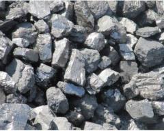 Уголь марки А-зола:6-7%,сера 0,7%-2,0%, марка Г