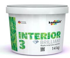 Воднодисперсионные краски - Водоразбавляемая краска на акрилатной основе  Kompozit®